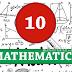 தரம் 10 - கணிதம் - பொலன்னறுவை முஸ்லிம் தேசிய பாடசாலை - மாதிரி செயலட்டை 1