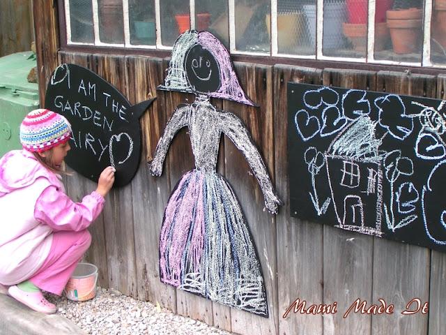 DIY Chalkboard - DIY Schultafel