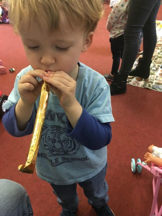 #MySundayPhoto-Number-47-boy-blowing-trumpet