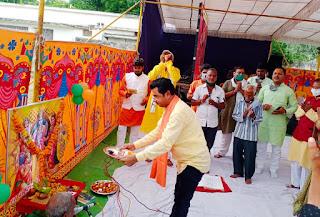 कईं संघर्षों के बाद आया यह दिन: भाजपा जिलाध्यक्ष लधवे