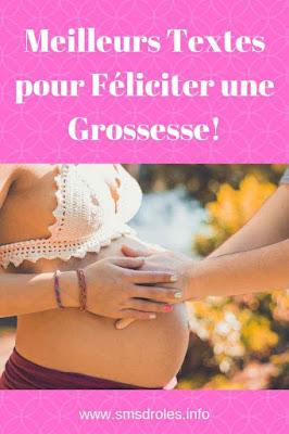 félicitation grossesse