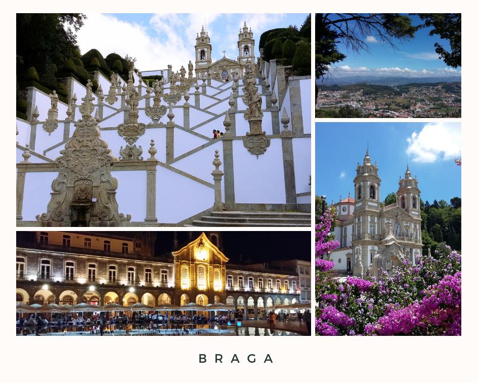3 Places to visit - Braga Portugal