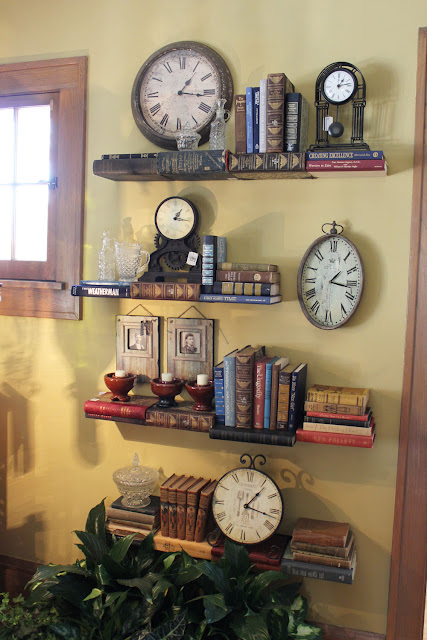 How to Decorate With Antique Clocks