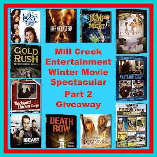Enter the Mill Creek Entertainment Winter Movie Spectacular Part 2 Giveaway. Ends 3/31