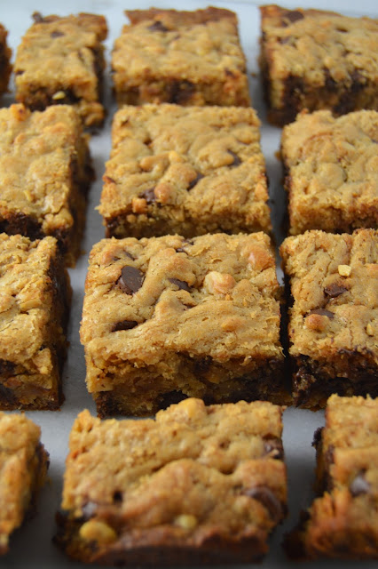Peanut Butter and Chocolate Cookie Bars