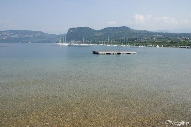 Spiaggia di Bardolino sul Lago di Garda
