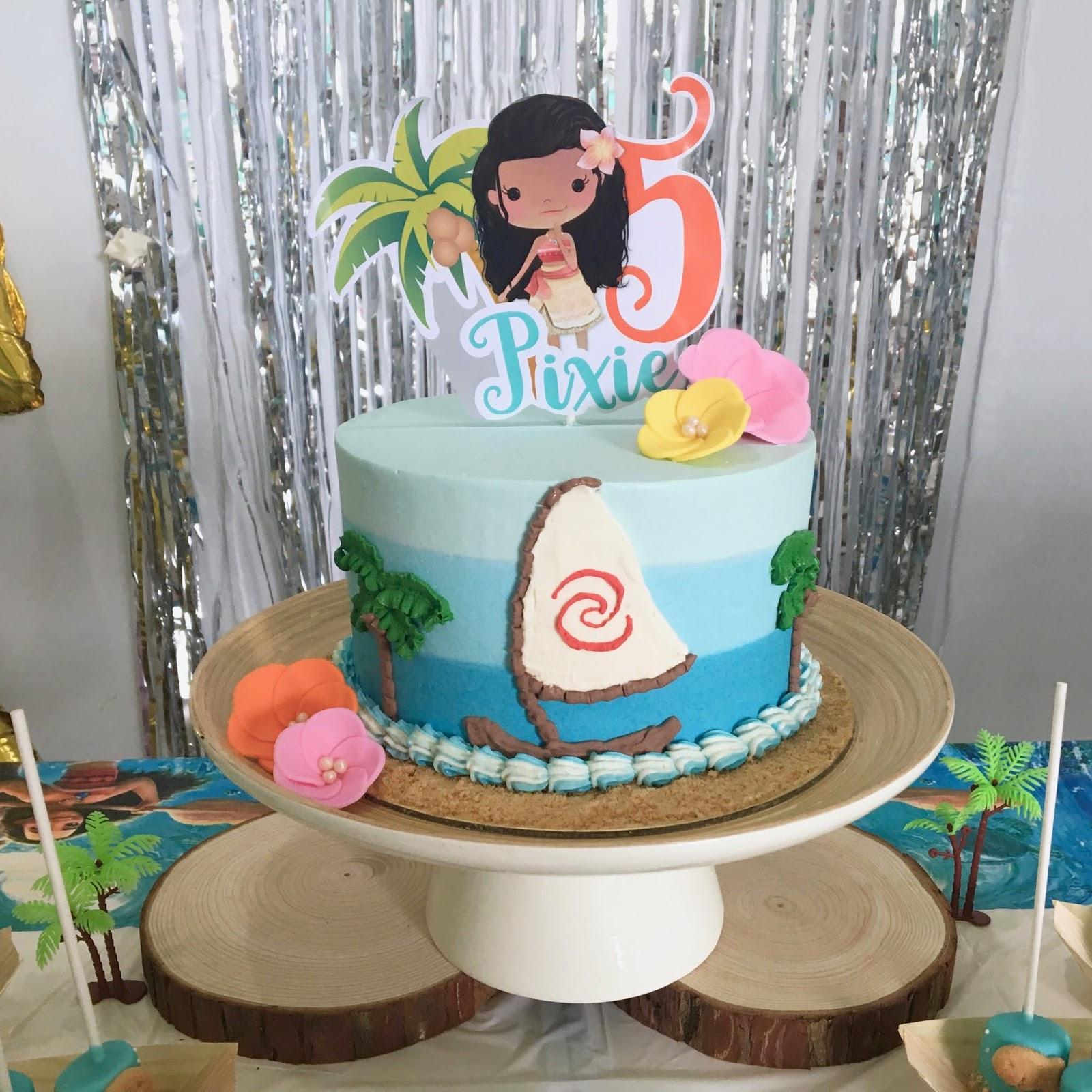 Crissa S Cake Corner Moana Cake And Desserts