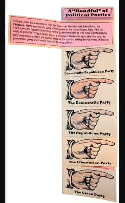 "A ""Handful"" of Political Parties completed project sample"