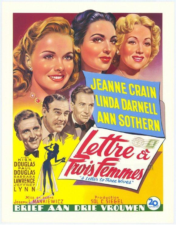 a letter to 3 wives arsenevich joseph l mankiewicz a letter to three 20331 | a letter to three wives