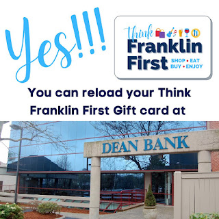Yes, #ThinkFranklinFirst Gift Cards are reloadable