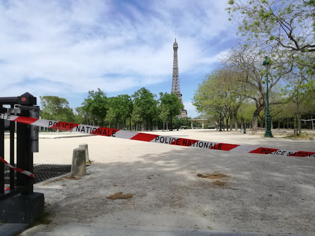 新型コロナウイルス フランス パリ