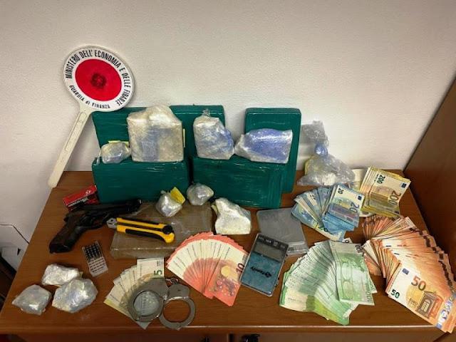 Paderno Dugnano. Marocchino arrestato dalla Guardia di Finanza con 8,3 kg di cocaina. Il video