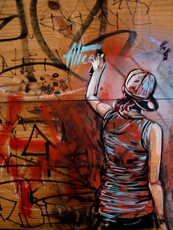 Уличные художники Andrea Michaelsson и Ilya Meyer 34