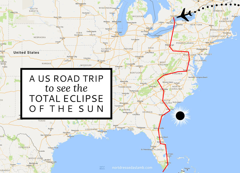 A Us East Coast Road Trip To See The Total Eclipse Saaysharelinkup
