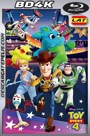 Toy Story 4 (2019) BD4K Latino – Ingles