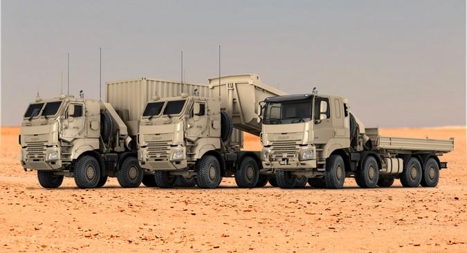 DAF fornecerá 879 caminhões CF para o exército belga