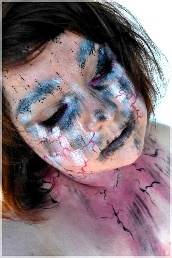 Harry Potter Crucio Zauber Makeup
