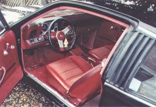 1980 Chevrolet, red interior