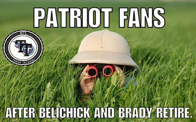 Patriot Fans After belichick and brady retire