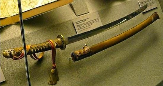 Espada de Tomoyuki Yamashoita