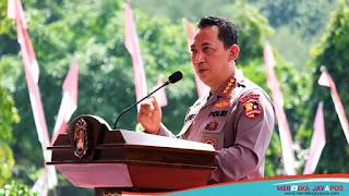 Kapolri Membuka Rakernis Lemdiklat Polri dan Peresmian Patung M. Jasin Di Akpol Semarang