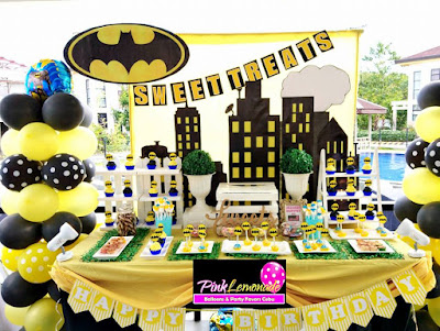 Batman themed Dessert buffet