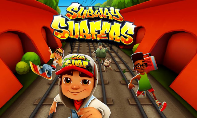 لعبة Subway Surfers للايفون