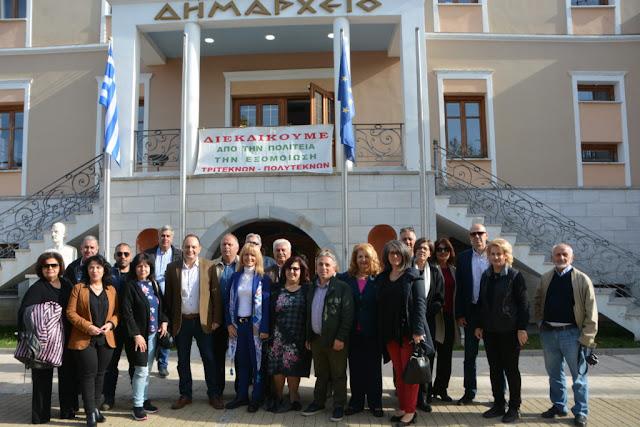 Συνεδρίασε η Περιφερειακή Ένωση Τριτέκνων Πελοποννήσου