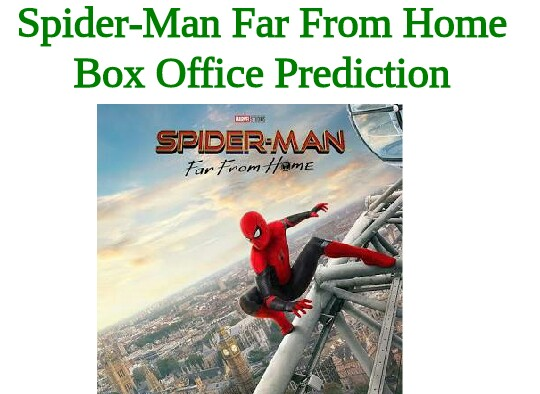 Spider-Man Far From Home Box Office Collection Prediction Worldwide