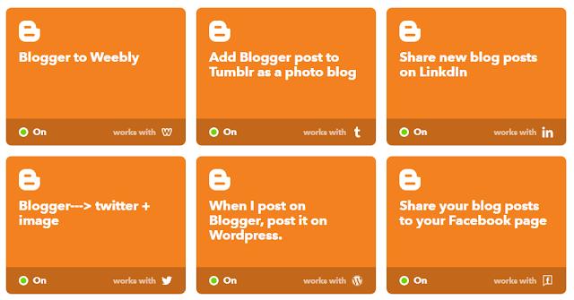 Algumas das mídias sociais que postam conteúdo automaticamente após algo se publicado aqui no blog do Help RPG.
