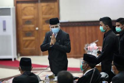 Kagura! DPR Aceh H'an Meutueng Jawaban Interpelasi Plt Nova Iriansyah