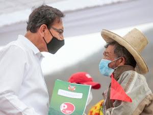 Martín Vizcarra: nada nos va a distraer en el trabajo a favor del pueblo