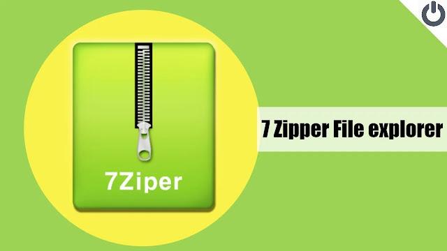 تنزيل 7Zipper - File Explorer   برنامج سهل لإدارة الملفات المضغوطة لنظام الاندرويد