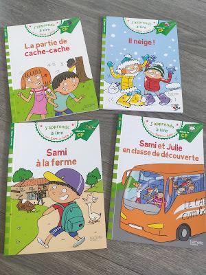 sami et julie niveau 2 cp livres lecture école à la maison
