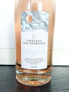 Château des Ferrages Mon Plaisir Sainte-Victoire Rosé 2020 (91 pts)