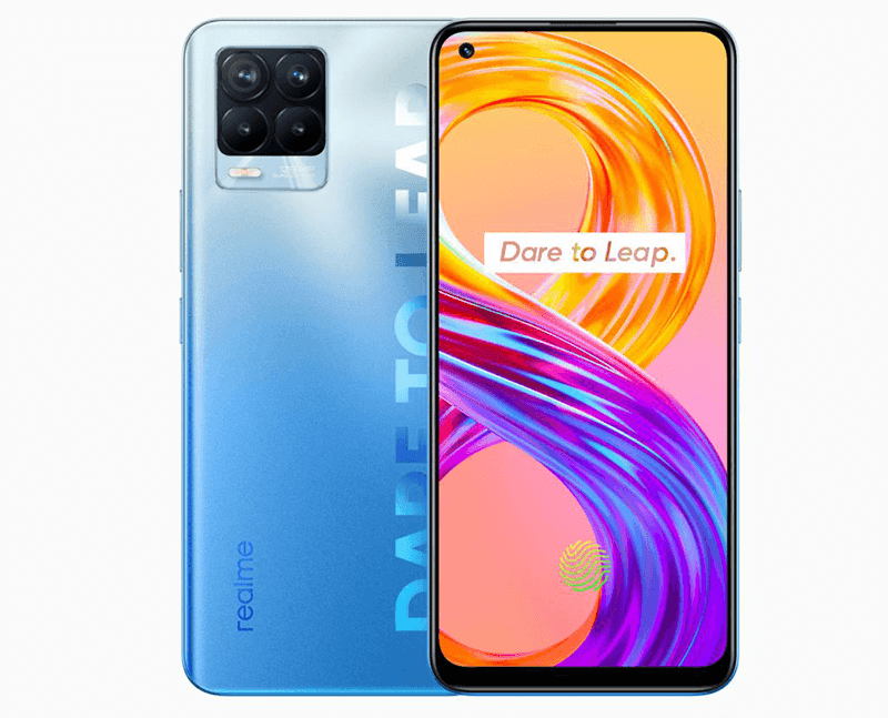 realme 8 Pro back and front design