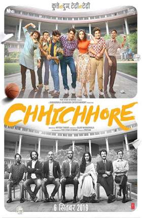 Chhichhore 2019 Hindi 400MB pDVDRip 480p