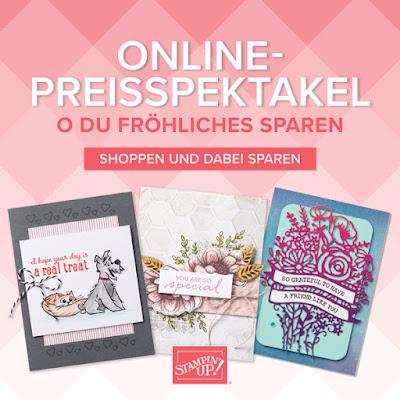 Stampin Up Online Preisspektakel