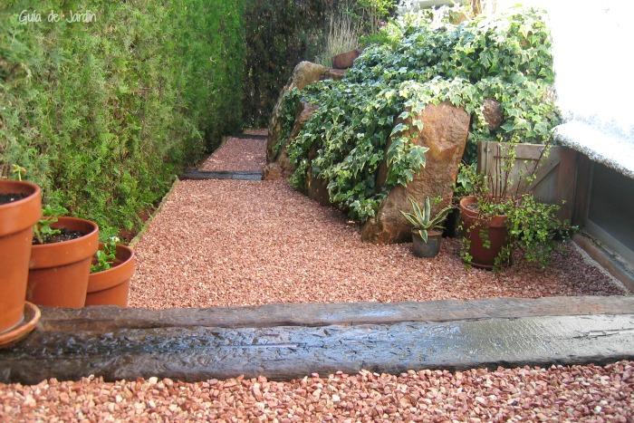 Instalar grava paso a paso guia de jardin - Gravas para jardin ...