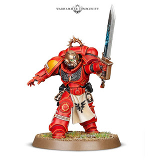 Blood Angels Lieutenant