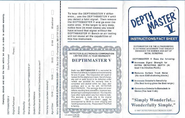 Boost détecteurs métaux, détecteurs de métaux anciens, détecteurs métaux vintage, old métal detector, vintage métal detector