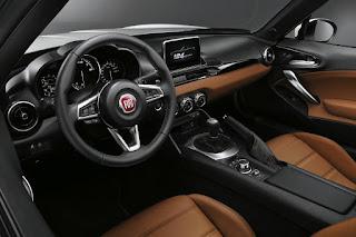 Fiat 124 Spider (2017) Interior