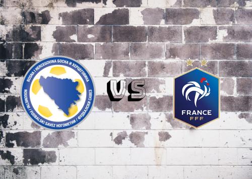 Bosnia-Herzegovina vs Francia  Resumen y Partido Completo