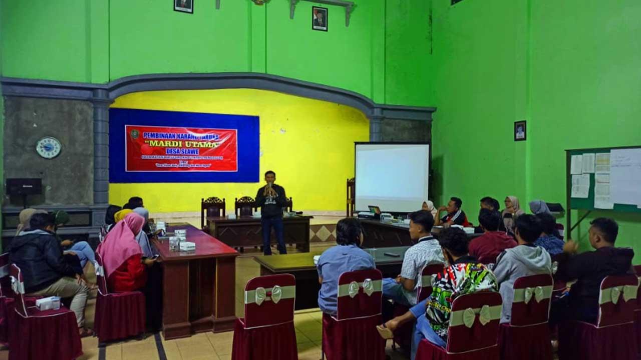 Sekolah Kepemimpinan Desa (SKD) di Desa Slawe
