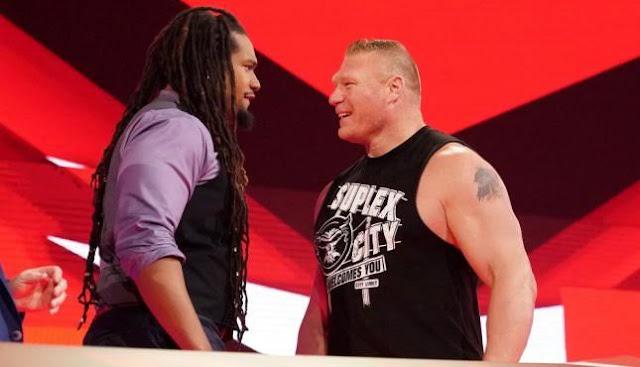 Estrela do WWE NXT desafia Brock Lesnar para futuro combate