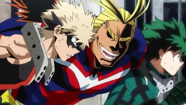 All Might vs Midoriya & Bakugou