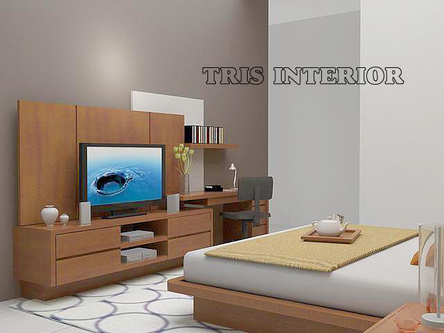 Setting Interior R Tidur Bedroom Work Maharumi Furniture Detail Produk Rak Tv