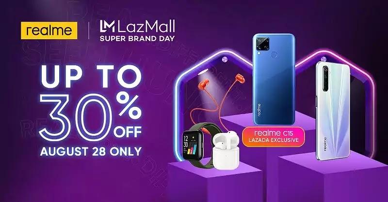 realme Lazada Super Brand Day