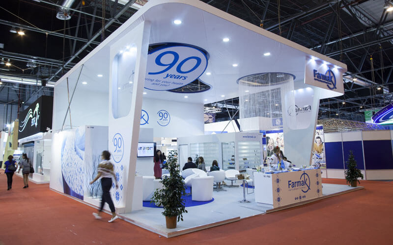 Custom Exhibition Stand Design : Cutting through the competition with custom exhibition booth