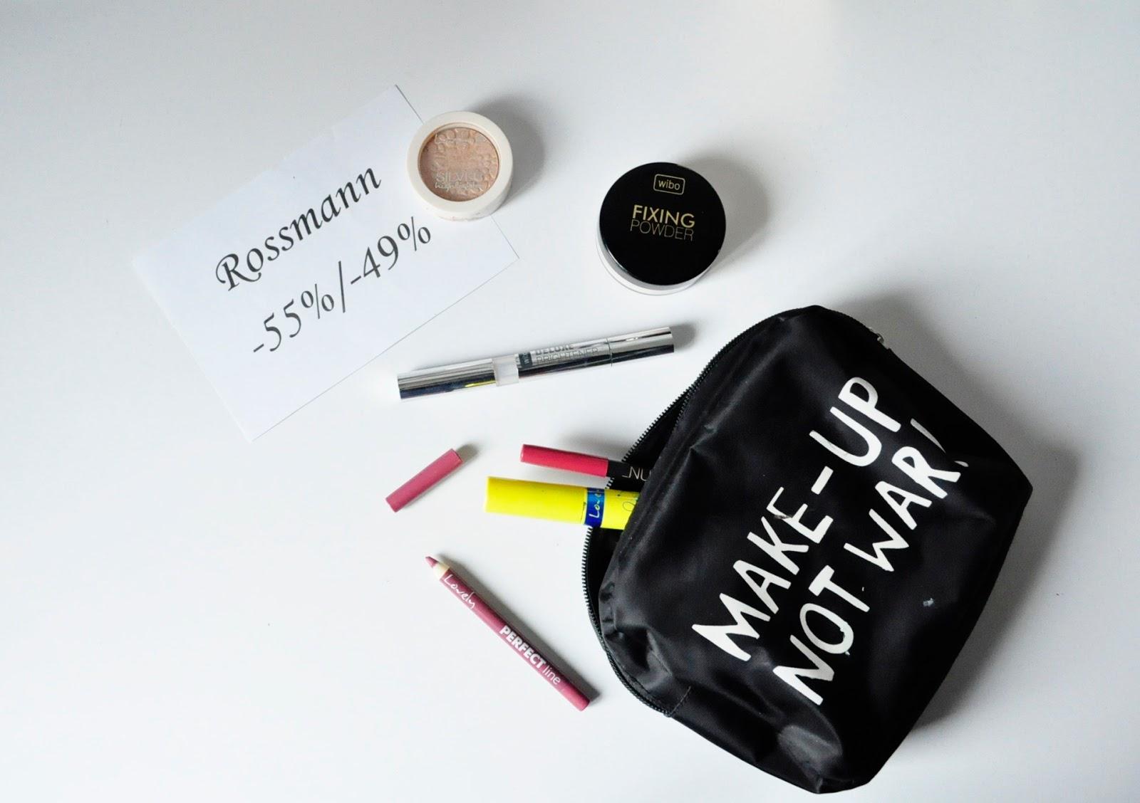 Szaleństwo zakupowe, czyli promocja Rossmann -55%/-49% | Wibo Maybelline Lovely